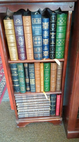 Beautiful leatherbound Easton Press & Franklin Library books